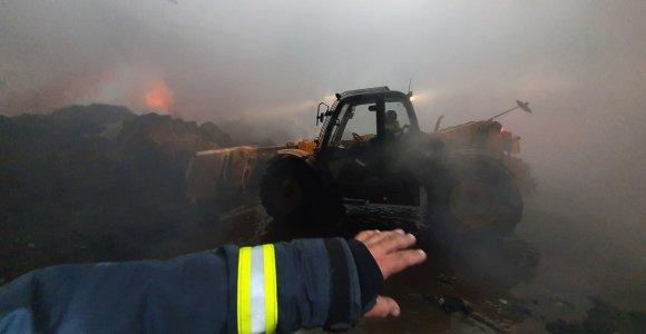 Seime ir Vyriausybėje bus aiškinamasi, kodėl įvyko gaisras Alytuje ir kaip jis gesintas