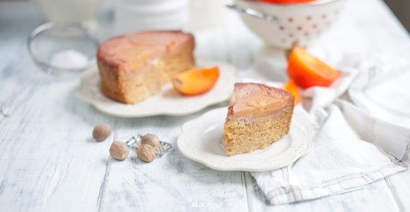 Ar kada ragavote pyrago su persimonais? Išsikepkite gardų ir maistingą