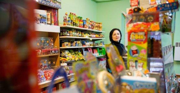 Tų skanių sausainių ir alaus: Bagaslaviškio parduotuvė