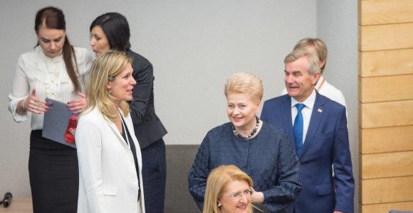 D.Grybauskaitė: per 150 valstybių taiko moteris diskriminuojančius įstatymus