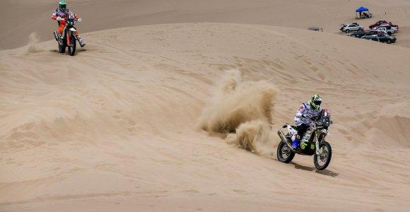 Dakaras 2019. Motociklų įskaitos lyderiai