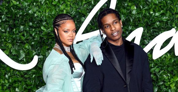 Po milijardieriaus – reperis: Rihanna susitikinėja su Švedijoje kalėjusiu A$AP Rocky