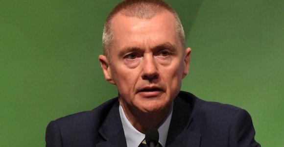 JK ir Ispanijos oro linijų milžinė IAG pranešė apie vadovo W.Walsho pasitraukimą