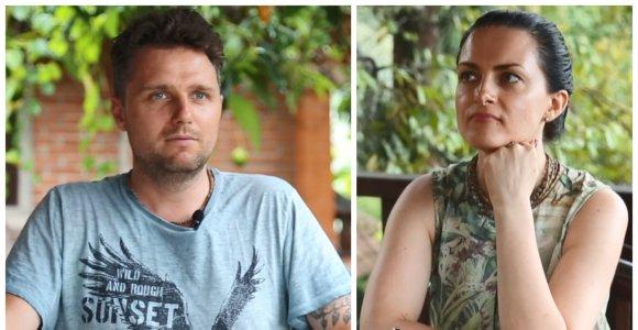 """Iš Balio ištrūkę Živilė ir Edgaras Lubiai gyvens iš santaupų: """"Mūsų nelaukia rožiniai laikai"""""""