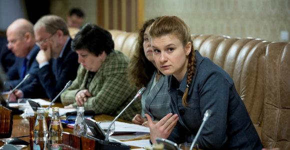 Įtariama Rusijos agentė Marija Butina įtakingus JAV politikus užbūrė aistra ginklams
