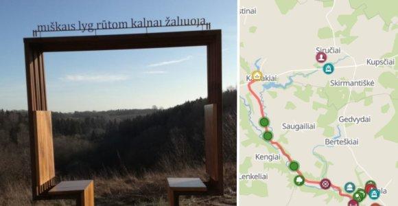 Maironio kelias Padubysiu: pamatykite vieną gražiausių gamtovaizdžių šalyje