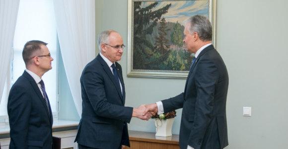 G.Nausėda ragina švietimo ministrą A.Monkevičių demonstruoti rezultatus