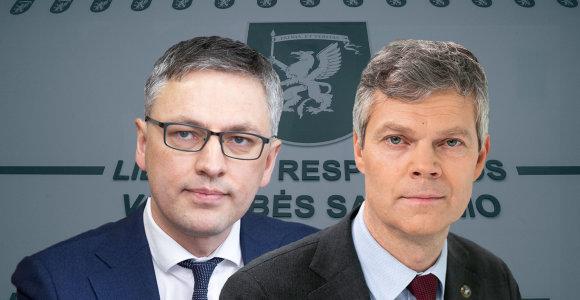 Seimo komitetas planuoja patvirtinti išvadą dėl situacijos VSD, kviečiasi vadovą
