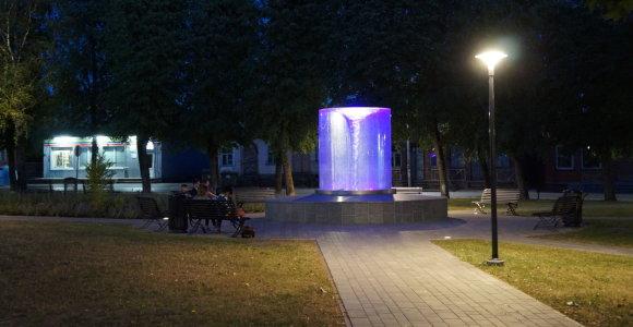 Žiemai uždaromas vienas gražiausių šalies fontanų