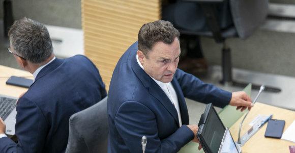 Seimui nuo teisėsaugos apgynus P.Gražulį, prokuratūra nutraukia tyrimą dėl piktnaudžiavimo