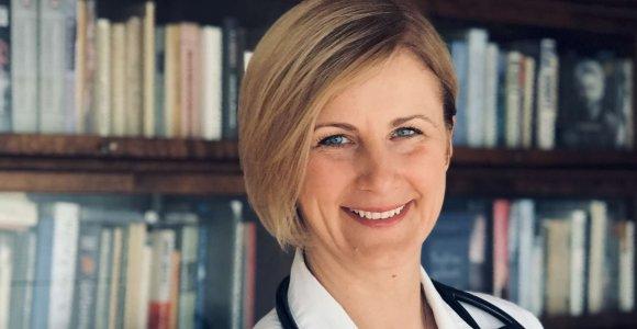 Kėdainių ligoninės gydytoja reabilitologė Raimonda Augienė apie įvairius jausmus sukeliančią pandemiją: ieškokime pozityvo kasdienėse situacijose