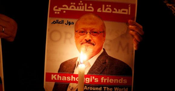 J.Khashoggi sužadėtinė JAV iškėlė bylą Saudo Arabijos princui dėl nužudymo