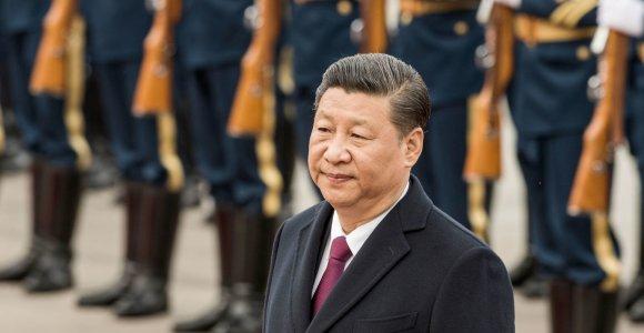 Kinijos vadovas ragina atsisakyti protekcionizmo ir žada didesnį BRI atvirumą