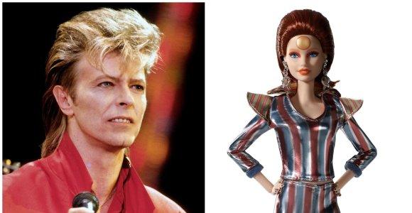 """""""Mattel"""" pristato Davido Bowie garbei sukurtą Barbę"""
