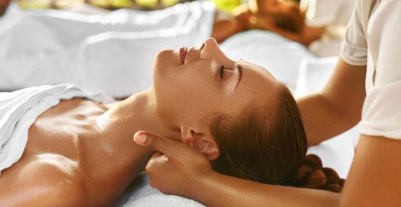 Kineziterapeutas: masažas – tinginių mankšta