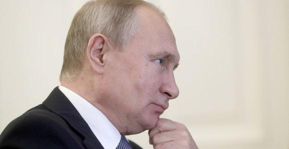V.Putinas: dujų tranzito per Ukrainą nutraukimo rizika egzistuoja