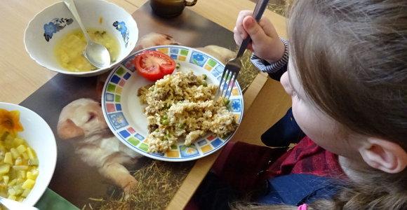 """Maistas Vilainių """"Obelėlėje"""" ir Žeimių centre – beveik be trūkumų"""