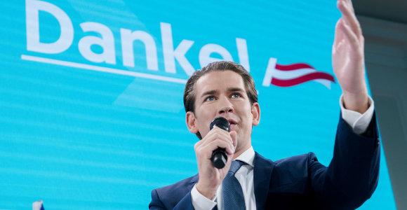 Austrijos buvusiam premjerui S.Kurzui pavesta formuoti naują vyriausybę