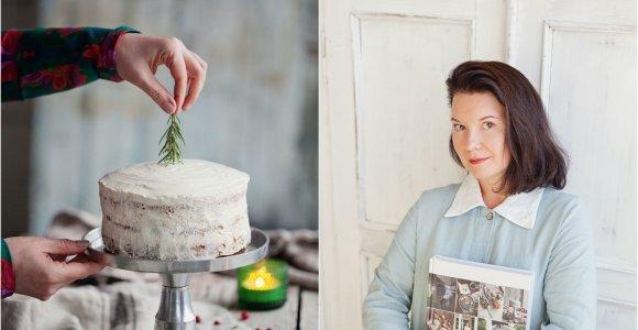 """Renatos Ničajienės """"Sezoninė virtuvė"""": tortas su spanguolėmis ir aguonomis"""