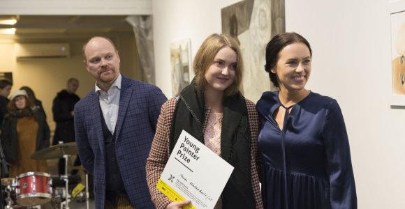 Baltijos šalių jaunojo tapytojo prizas – lietuvei M.Plentauskaitei