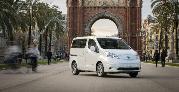 "Renkame ""Tautos automobilį 2019"": elektrinis furgonas ""Nissan e-NV200"""