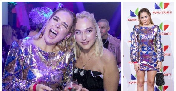 Monika Marija VIP vakarėliui ruošėsi 5 valandas: įvaizdį pakeitė paskutinę minutę