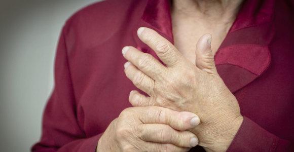 Mokslininkai išsiaiškino, kodėl skausmas kankina dar iki susergant reumatoidiniu artritu