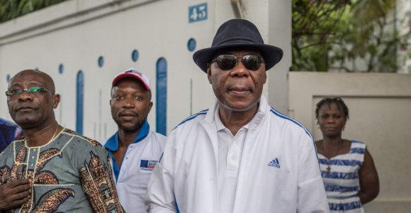 Iš politinės krizės apimto Benino išvykobuvęs prezidentas Th.Boni Yayi