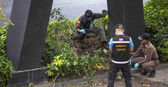 Virtinės sprogdinimų nusiaubtame Bankoke sulaikyti du įtariamieji
