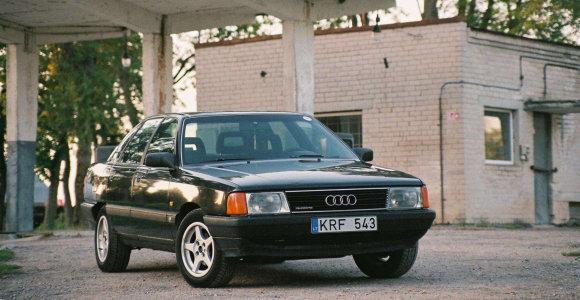 """Kultinė """"Audi 100"""": lietuvių pamėgta """"silkė"""", kuri kadaise buvo inžinerijos šedevras"""