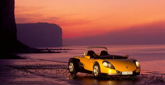 """""""Renault Spider"""" – 25 metai: modelis, kėlęs nuostabą nuo pirmos pristatymo dienos"""
