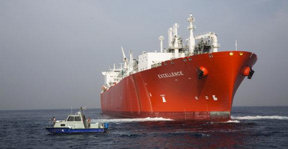 """Rusijos """"Novatek"""" SGD iš arktinių dujovežių perkraus Norvegijoje"""
