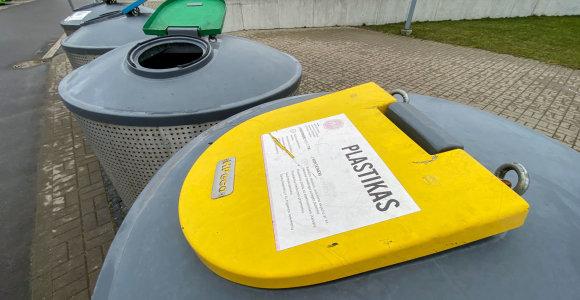 Rūšiuoti norintys Vilniaus rajono gyventojai liko it musę kandę: konteinerių jiems nėra