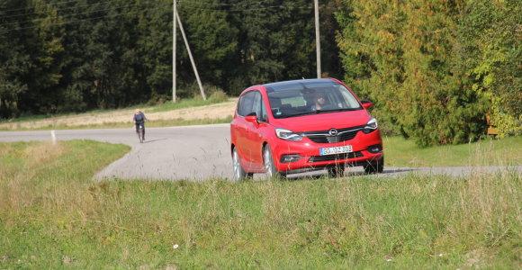 """Klaipėdoje pavogtas senutėlis """"Opel"""""""