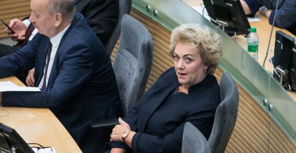 Tyrimą dėl I.Rozovos atliekantis Seimo komitetas kviečiasi V.Pranckietį