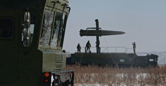 """Izraelio palydovas pastebėjo Rusijos bazėje Sirijoje raketų kompleksą """"Iskander"""""""