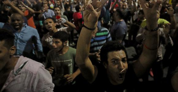 Egipte nuo retų protestų pradžios suimti per 500 žmonių