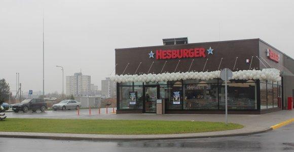 """""""Hesburger"""" Kaune atidarė 50-ąjį restoraną"""