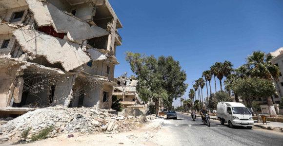 """Organizacija """"Syrian Archive"""" kaupia medžiagą apie rusų atakas prieš civilius Sirijoje"""