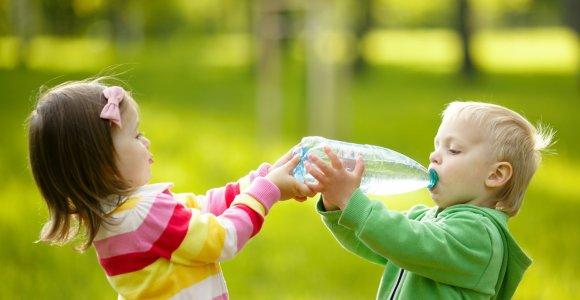 Mineralinis vanduo: kuo skiriasi mėlynųjų buteliukų turinys?