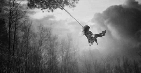 Kaip vaiką veikia buvimas gamtoje, ypač medžiai?