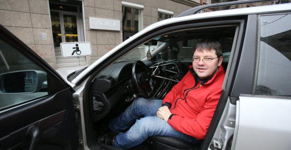 Nesutikęs su klaida protokole neįgalus vyras iš Kauno valdžios sulaukė didesnės baudos