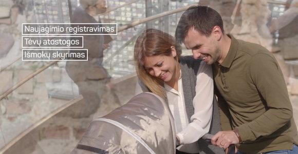 Viešosios elektroninės paslaugos internetu – nuo vaiko gimimo iki verslo registravimo