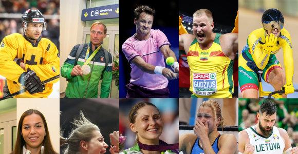 Geriausi iš geriausių per dešimtmetį: Lietuvos sporto žvaigždžių Top10