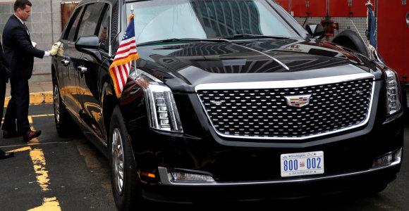 Iš laidojimų paslaugų įmonės D.Trumpas išsinuomojo limuzinus už 1 mln. dolerių