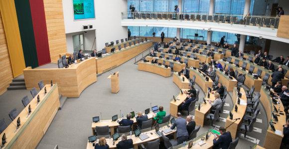 Seimo nariai per metus parlamentinei veiklai išleido per 1,4 mln. eurų