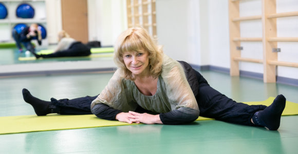 66-erių trenerės N.Ratkevičienės sukurta sistema veikia: žmonės sveiksta, jaunėja, nestokoja energijos