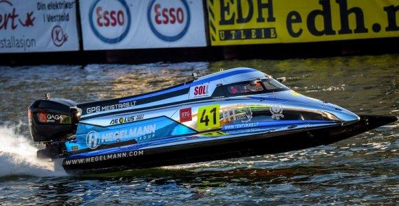 Edgaras Riabko Pasaulio čempionato etape Norvegijoje – 8-as