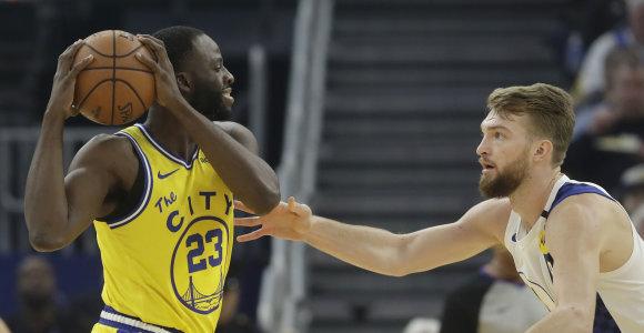 NBA vicečempionų tvirtovėje D.Sabonis kėsinosi į trigubą dublį