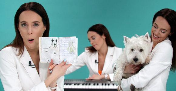 """""""Daikčiukai"""": išdykęs KaYros šuo, pirmoji kūryba ir paslaptingas plaukų segtukas"""